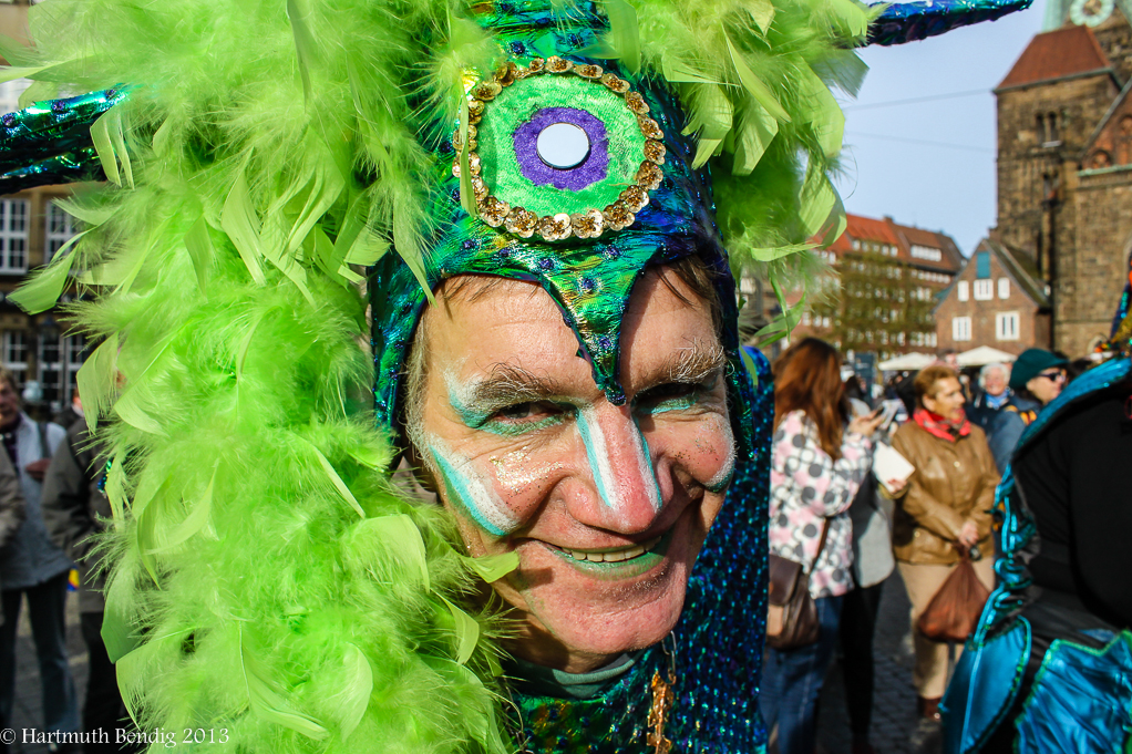 Eröffnungsveranstaltung zum Bremer Karneval am 11.11.2013