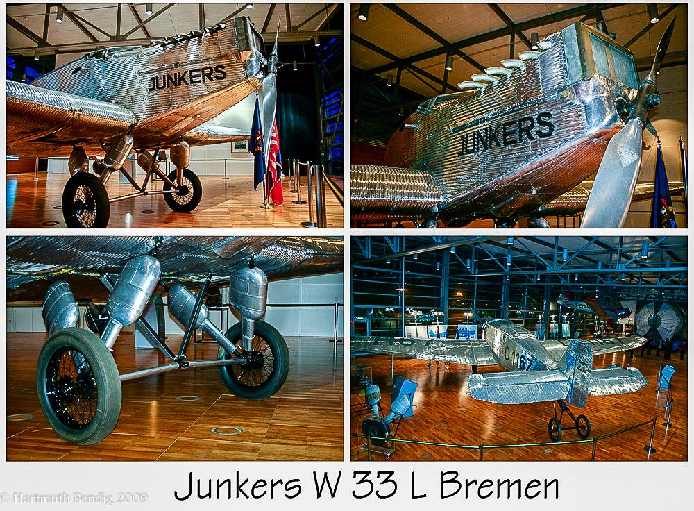 die restaurierte Junkers w 33 L Bremen
