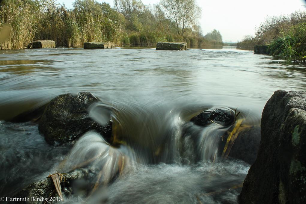 ein Zufluss zum Bremer Werdersee