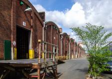 alte Baumwollschuppen in der Bremer Überseestadt