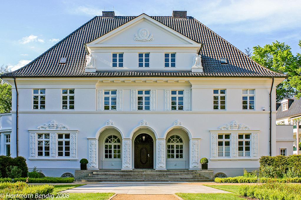 die Villa Haus Koenenkamp in der Marcusallee
