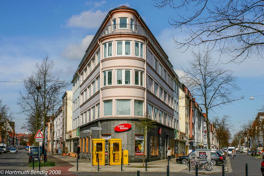 Blick auf das ehemalige Kaufhaus des Westens in Bremen Walle