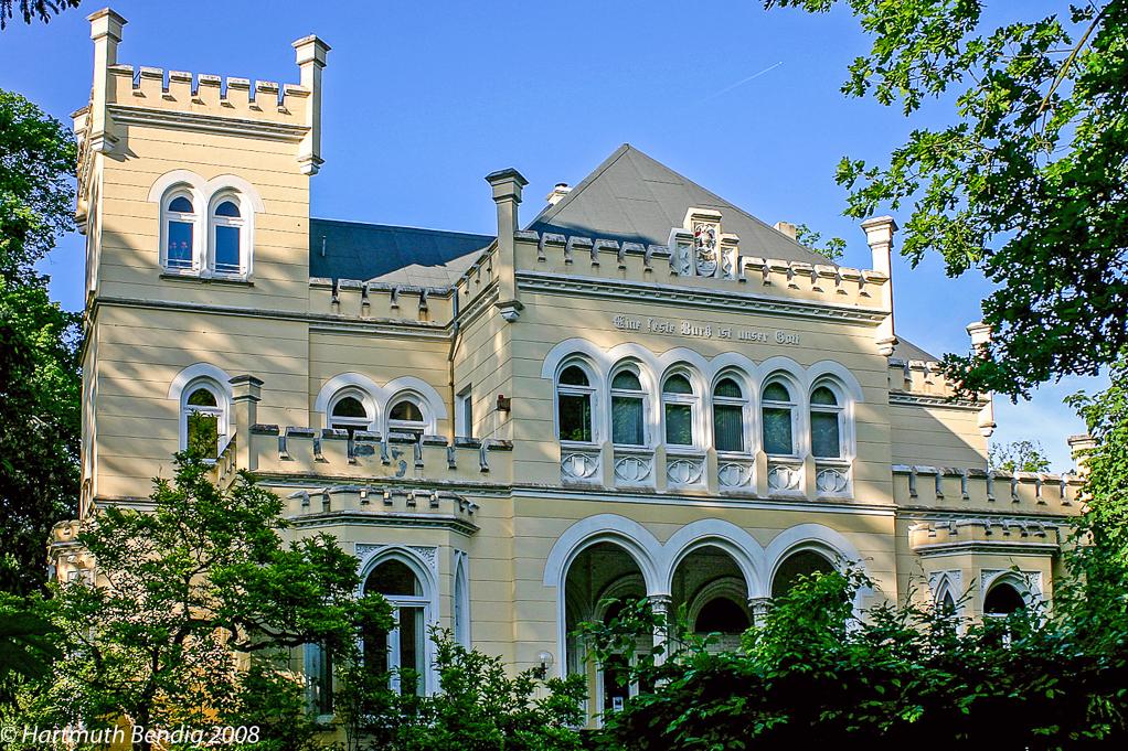 die alte Villa Leopold in Bremen Horn