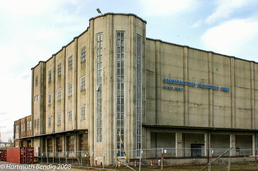 altes Kühlhaus in der Überseestadt