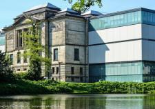 die Rückseite der Bremer Kunsthalle