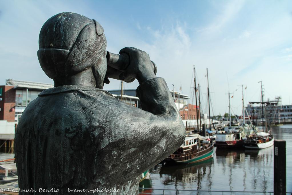 Skulptur in Bremen Vegesack