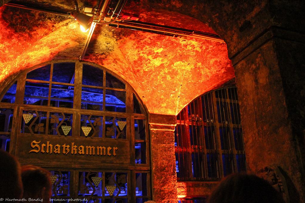 Eingang zur Schatzkammer des Bremer Ratskellers