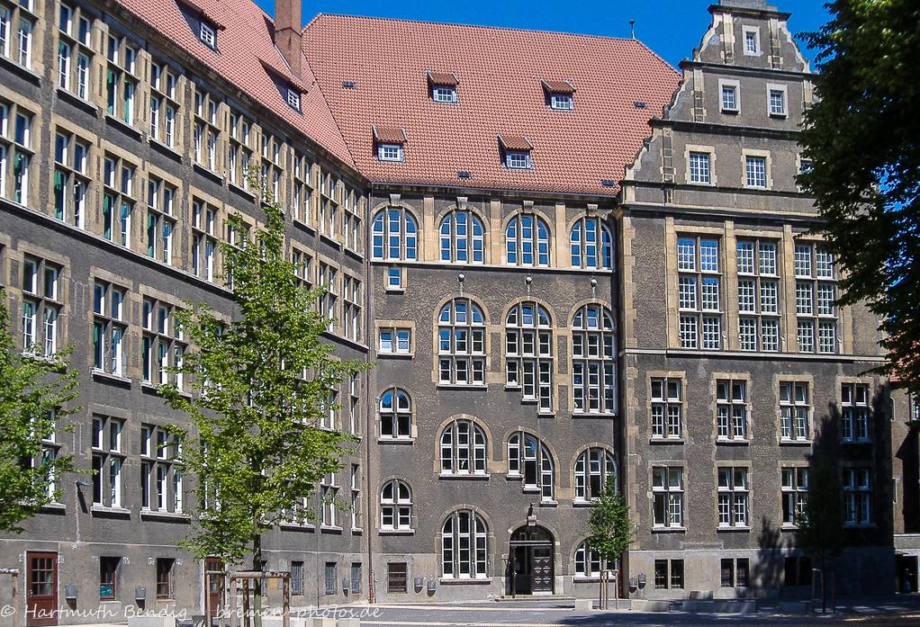 Innenhof des Hermann Böse Gymnasiums