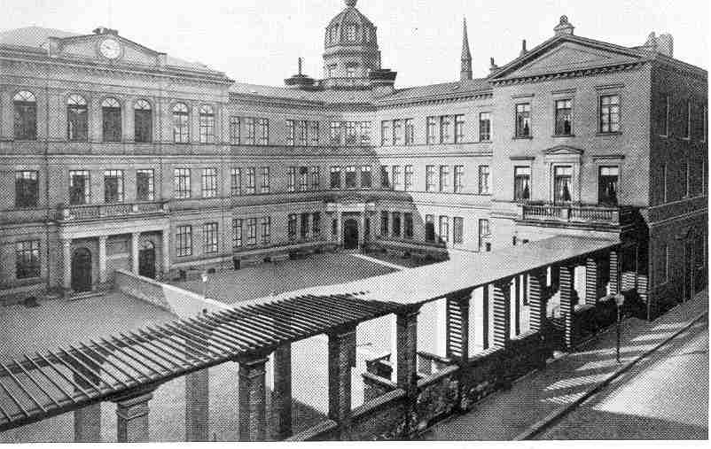 das ehemalige Alte Gymnasium in Bremen