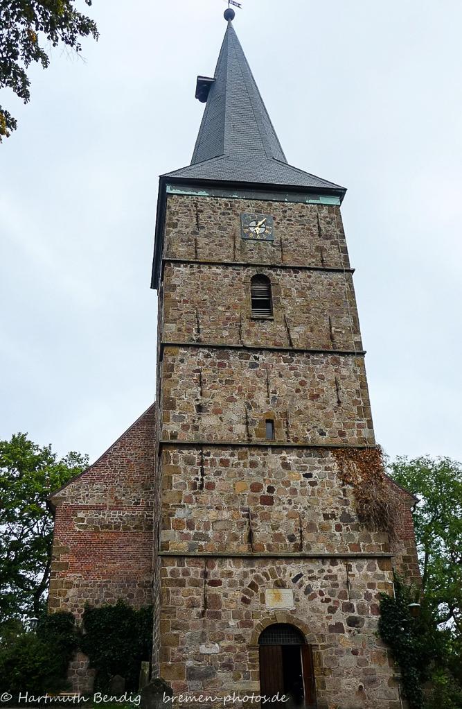 Turm der St. Martini Kirche Bremen Lesum