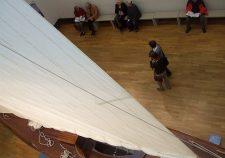 Blick in die ehemalige Eingangshalle der Bremer Kunsthalle