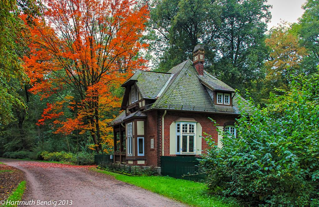 das Wätjenhaus im Bremer Bürgerpark