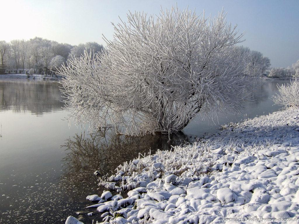 Winteranfang 2007 in Bremen